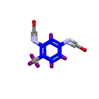 ساختار شیمیایی تولوئن دی ایزوسیانات