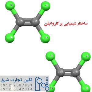 ساختار مولکولی آب اکسیژنه