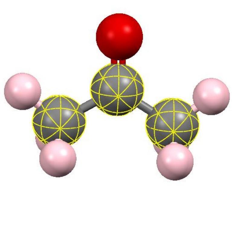 ساختار مولکولی استون